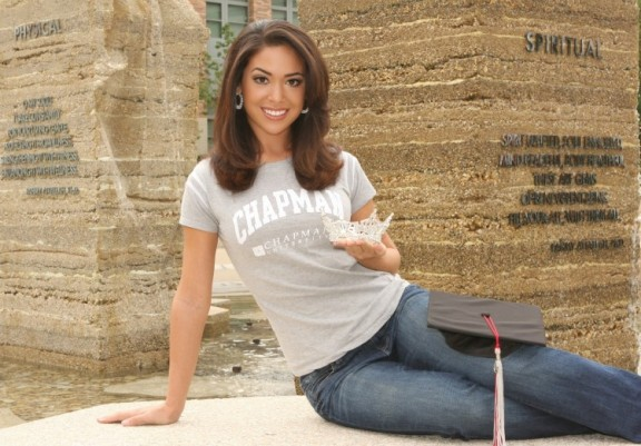 Miss California Noelle Freeman '11 represents California this week at the Miss America Pageant.