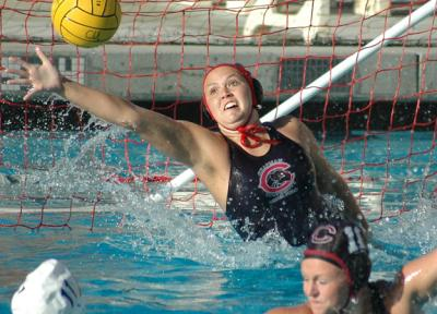 Junior goalie Allison Smith made 13 saves in four quarters for Chapman.