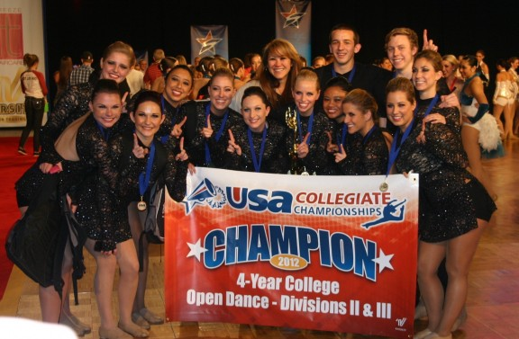 Chapman's dance team wins nationals fourth year in a row.