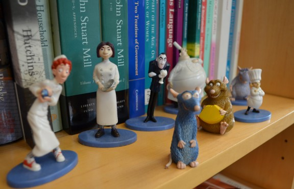 The culinary crew is all there, keeping good company with John Stuart Mill and John Locke.