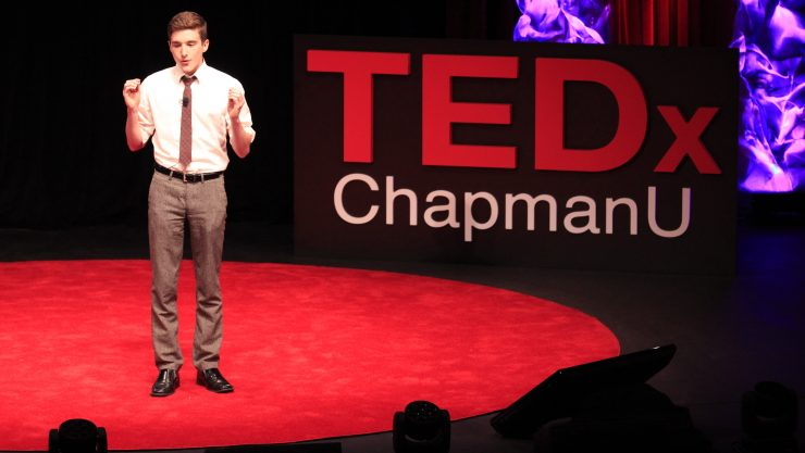 man in ted talk