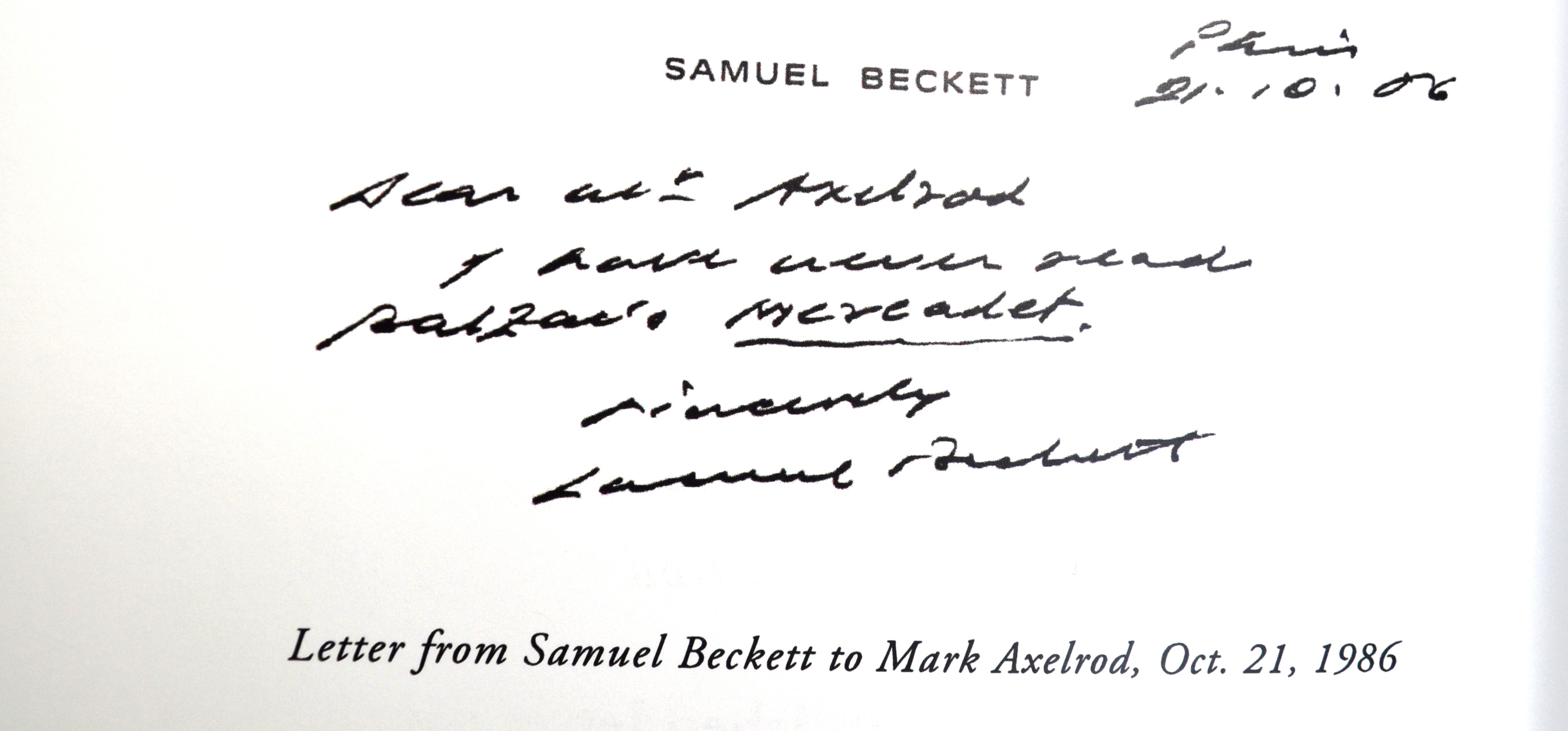 inscription on book page