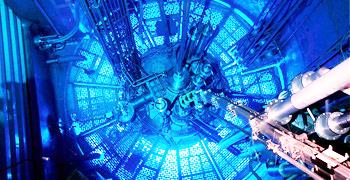 Core of High-Flux Reactor at Institut Laue-Langevin