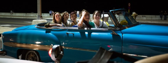 The quintessential Havana experience includes at least one taxi ride in a classic American car from the '50s.