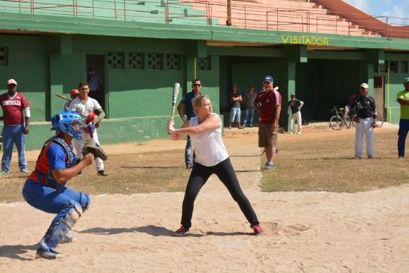 Professor Sparks at-bat
