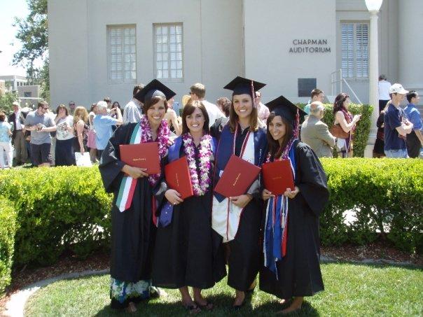 group of graduates