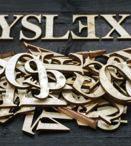 jumble of letters