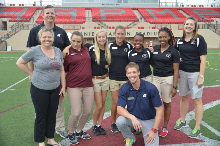 Athletic Trainers smiling