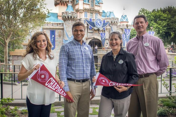 Alumni at Disneyland
