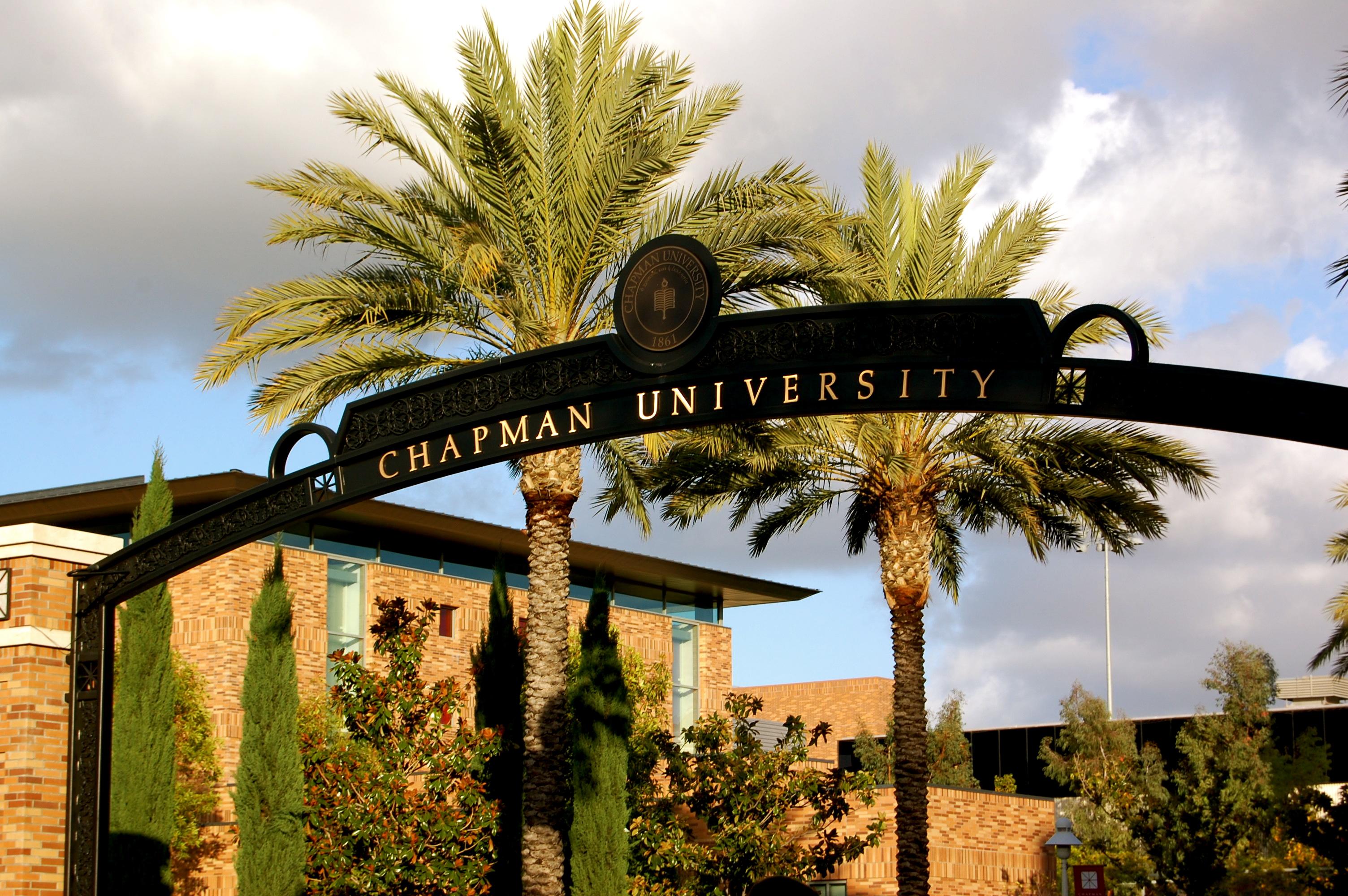 Chapman University arch