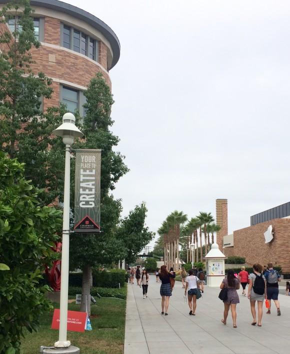 Chapman's campus