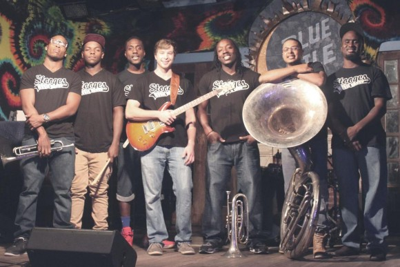 Stooges Brass Band brings New Orleans-style fun.