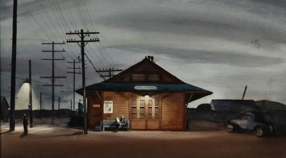 San Dimas Train Station