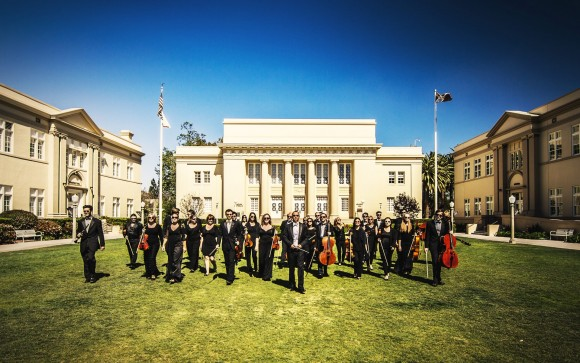 The Chapman Orchestra, with music director Daniel Alfred Wachs