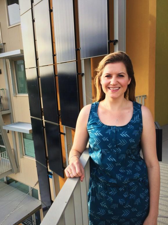 Madison, solar panels on bldg