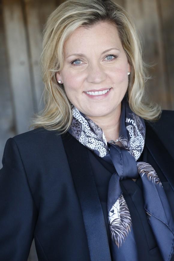 Professor Lisa Sparks smiling