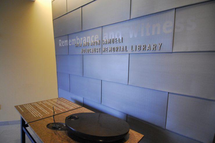 Sala and Aron Samueli Holocaust Memorial Library at Chapman University