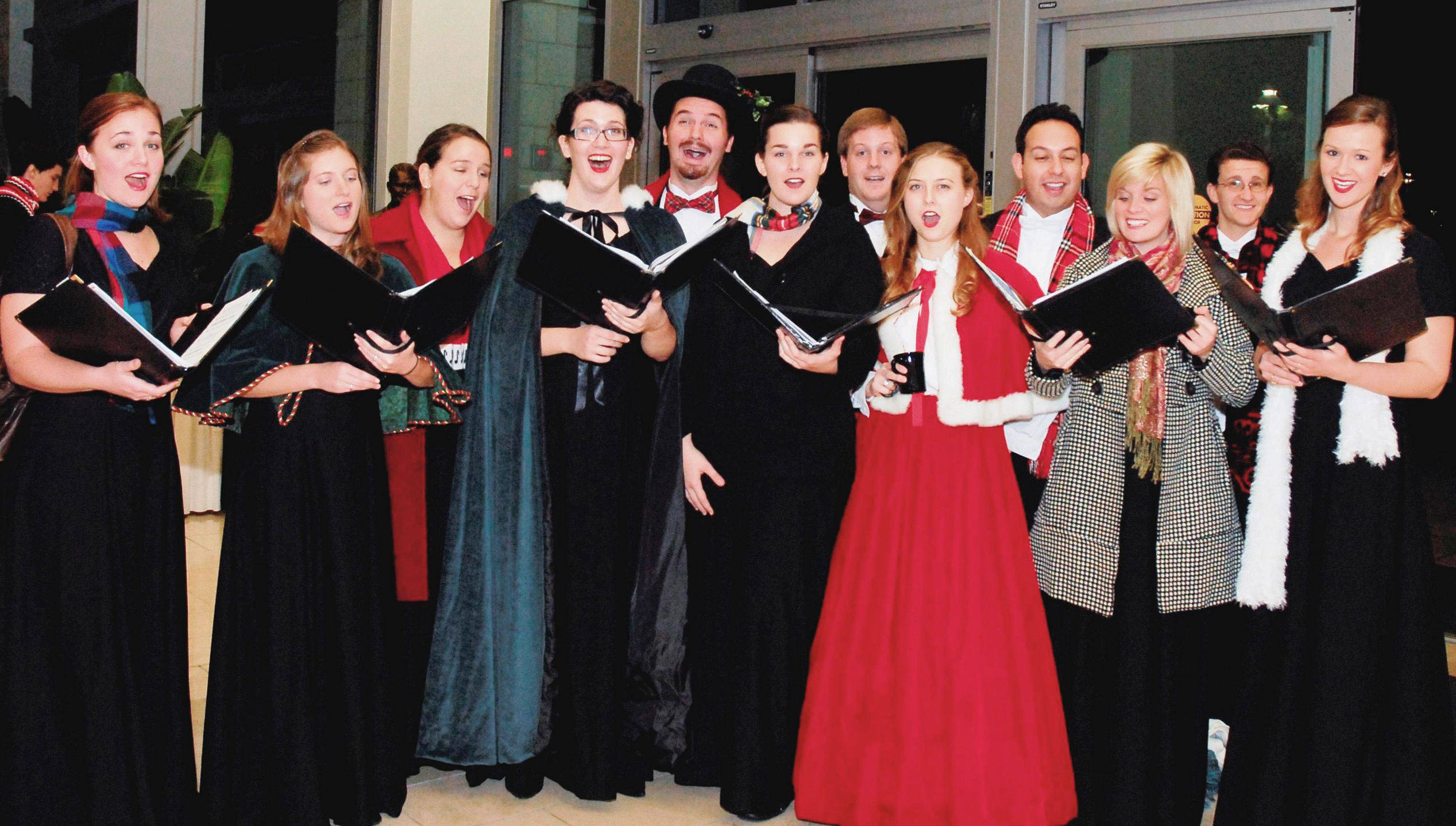 Chapman University Wassail Carolers