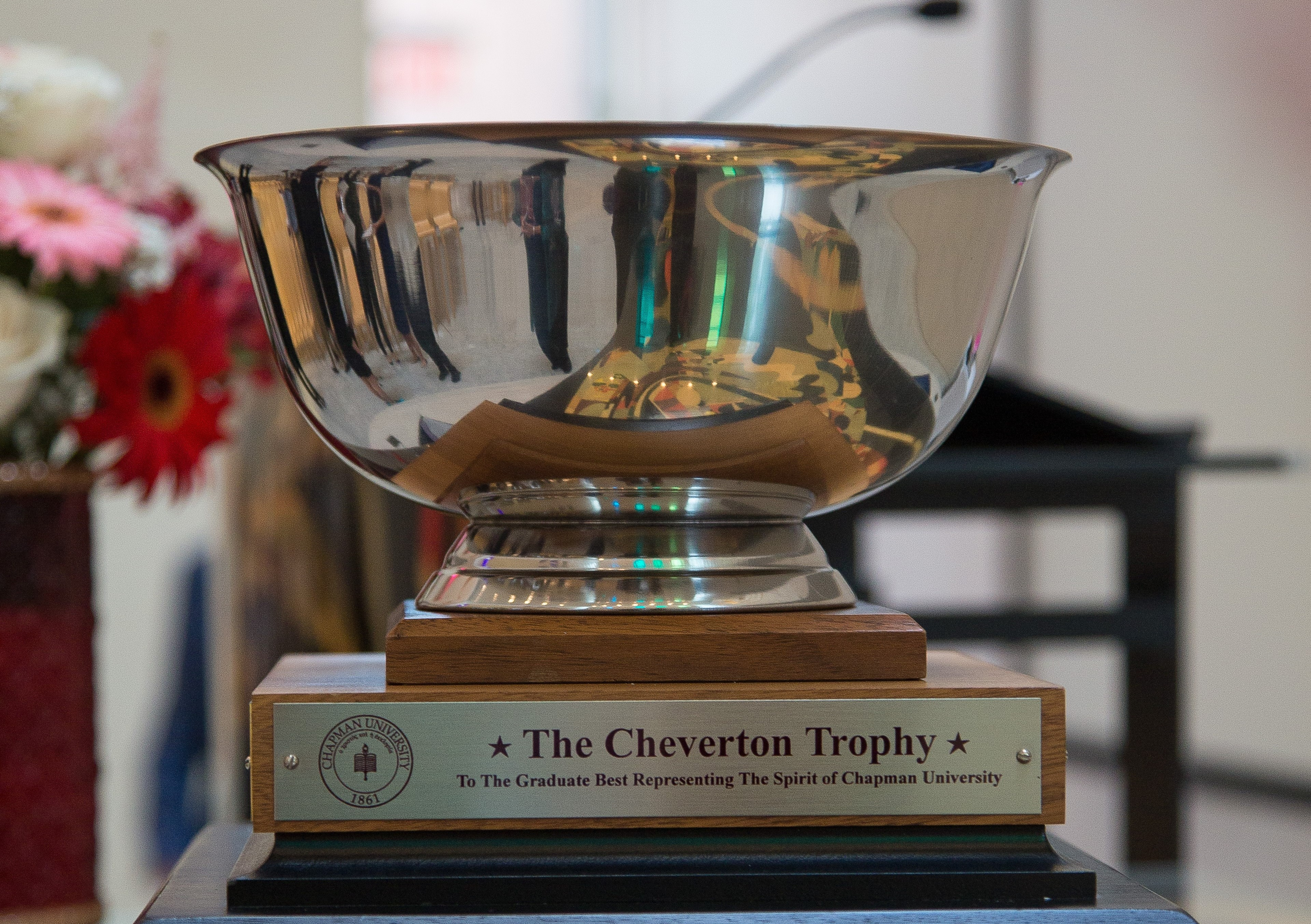 Cheverton Award trophy