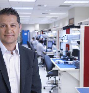 Joe Kiani, Masimo CEO, in facility