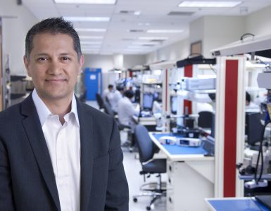 Joe Kiani, Masimo CEO, in facility