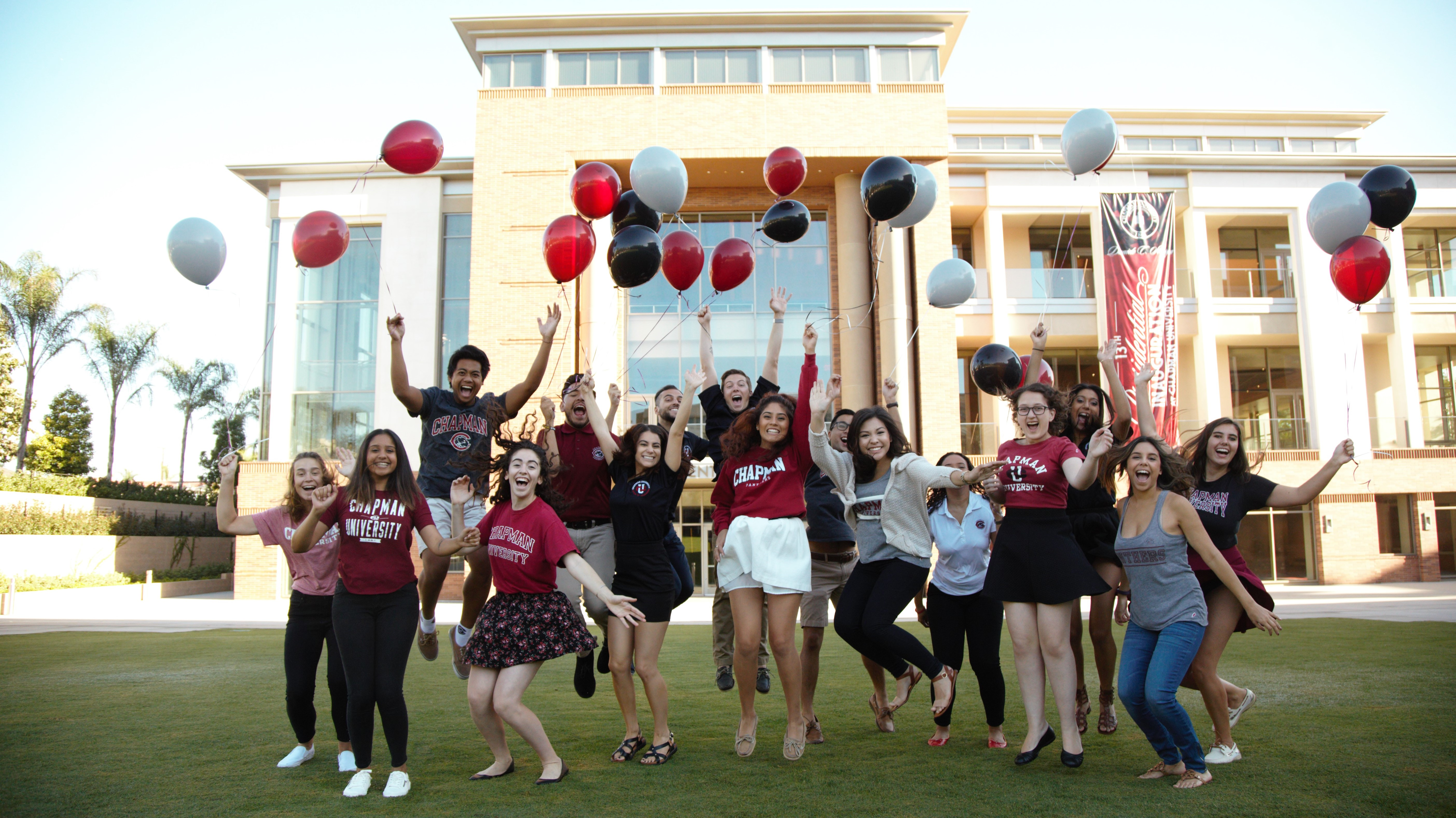 Chapman University Receives Record Number of First-Year Applications