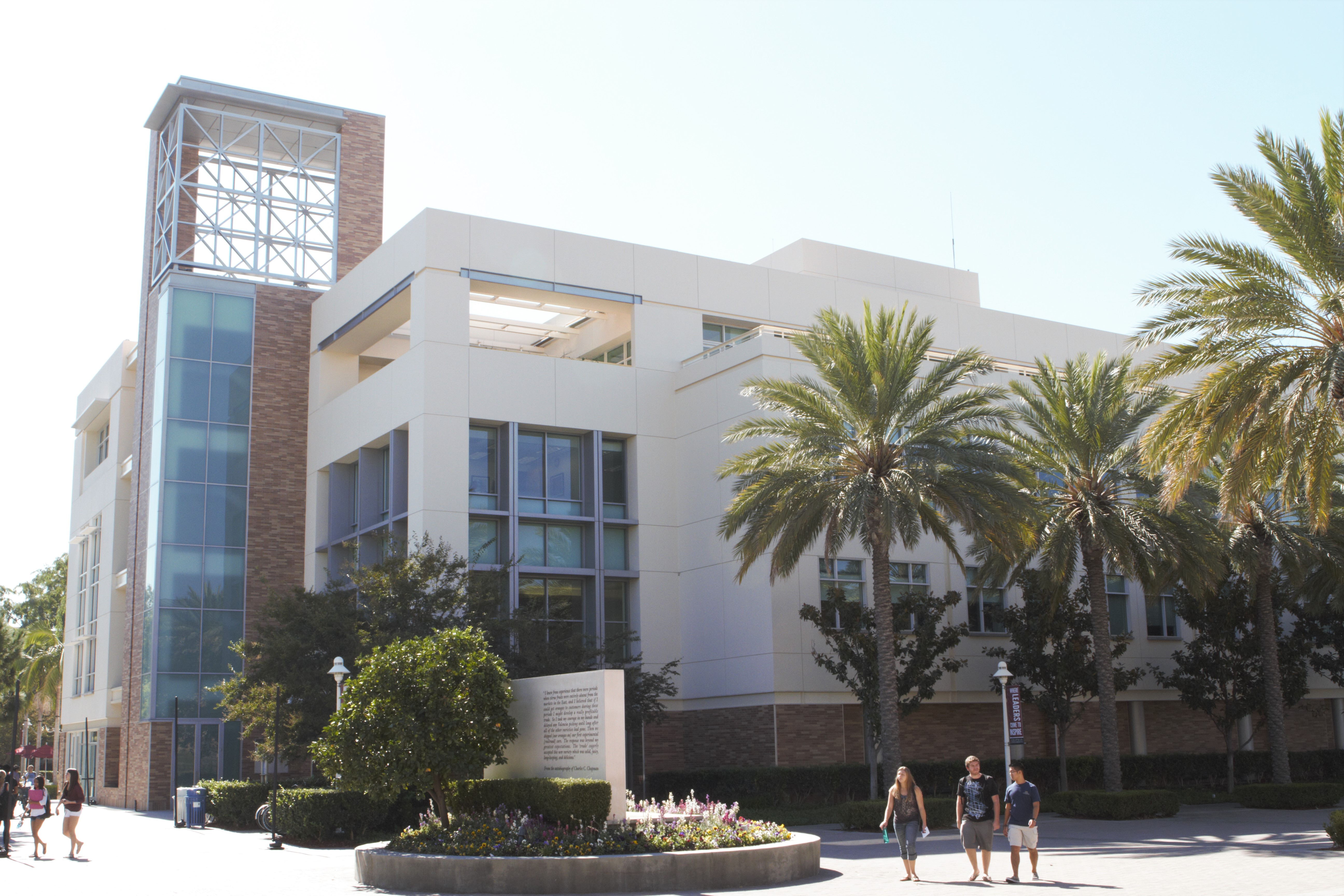 beckman hall building