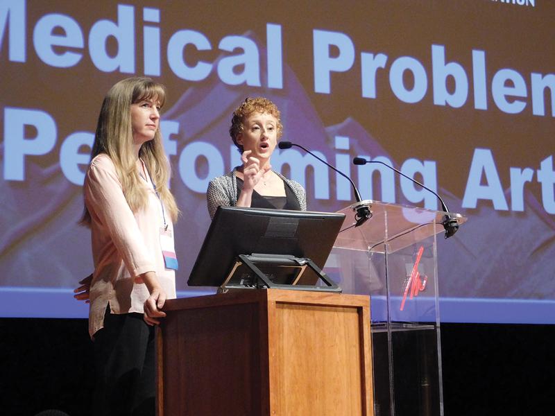 Kish presenting at PAMA