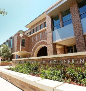 Chapman University's Keck Center Exterior