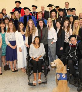 Chapman students and faculty