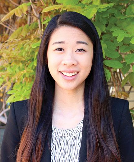 Graduate Ansley Wong