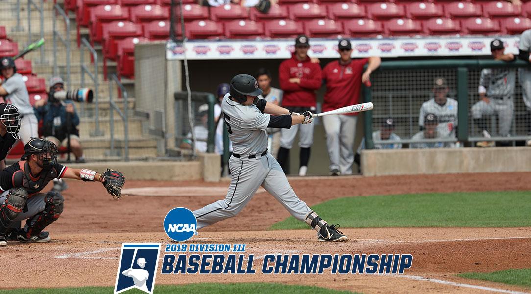 Chapman University baseball player