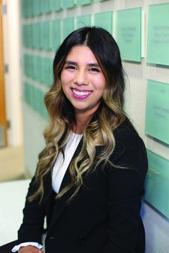 Chapman alumna Alix Portillo