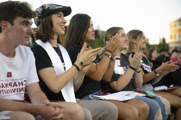 First-year Chapman Students at Convocation 2019