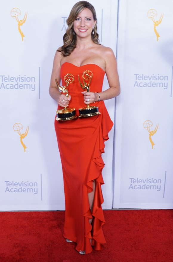 Brenda Brkusic Milinkovic at Emmy Awards