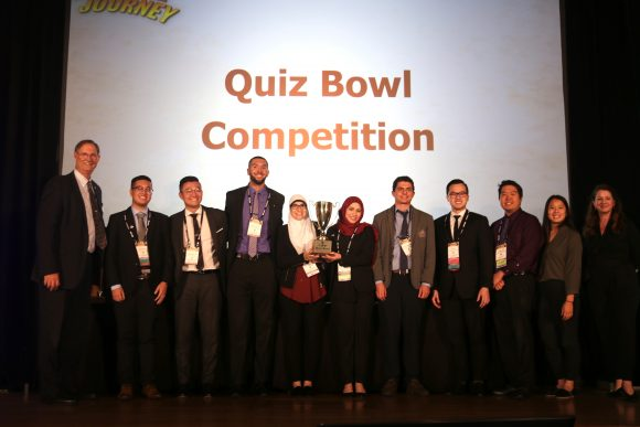 CUSP student Quiz Bowl winners