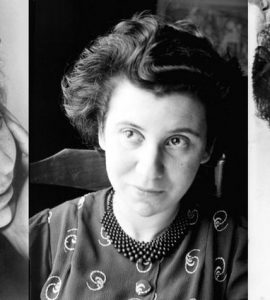 three portraits of Etty.