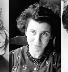 three portraits of Etty.