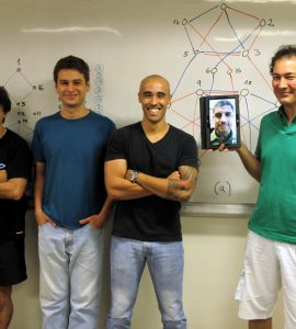 Chapman research fellow Dr. Silva and his colleagues