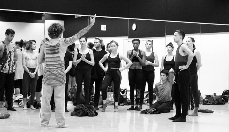 World-renowned dancer and Chapman Presidential Fellow Ido Tadmor teaches master classes during his visits to campus. Recently he accompanied students on a travel course that explored the dance culture of his native Israel.
