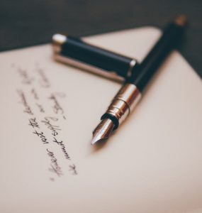 Poetry and pen