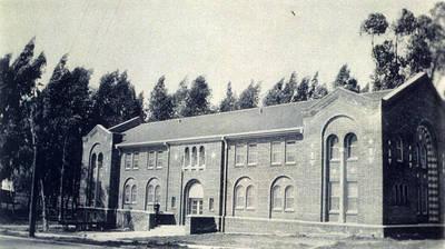 Chapman University's historical LA campus.