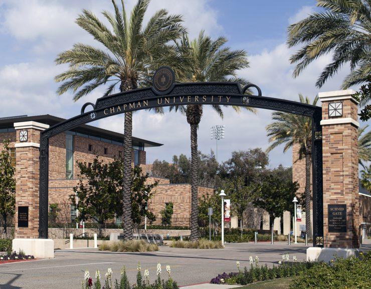 Schmid Gate at Chapman University