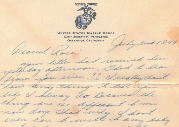 war letter