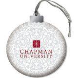 swirly chapman university ornament