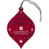 seasons greetings chapman holiday ornmanent