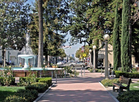 Plaza Park in Olde Town Orange