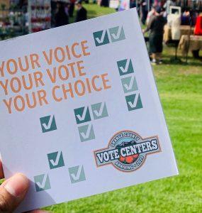 voter brochure