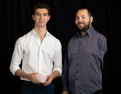 Oliver Mathias (left) Greg Tyler (right)