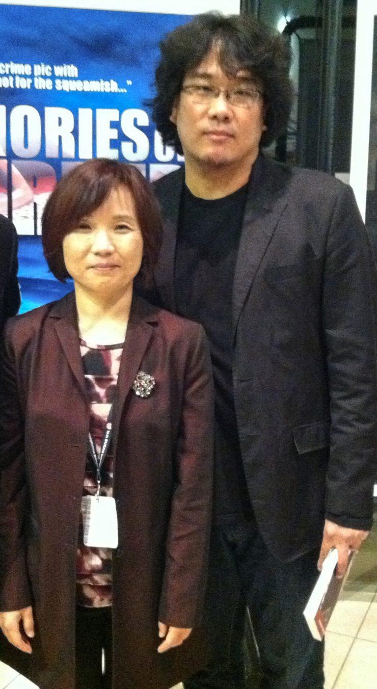 Nam Lee with Bong Joon-ho
